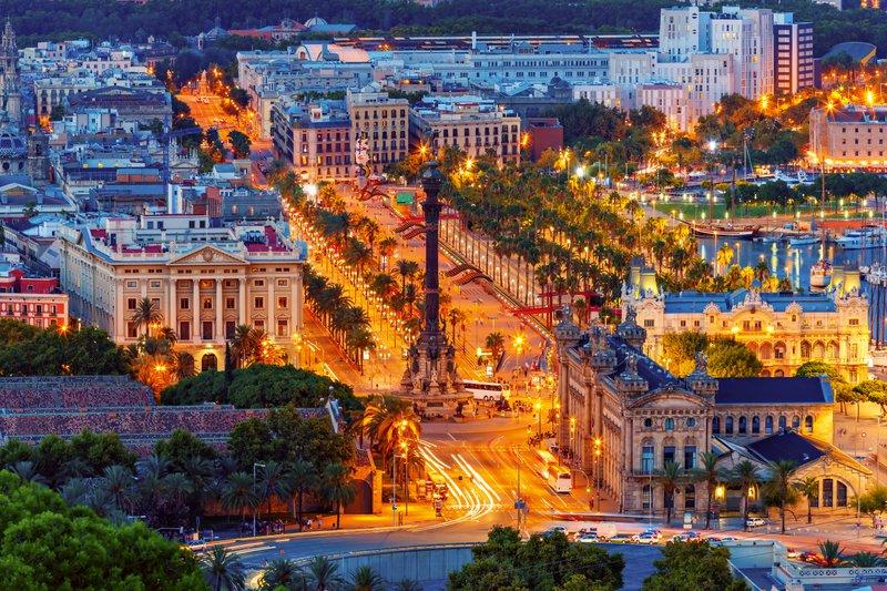 Barcelona prebujena lepota