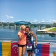 Triatlonka Nataša Nakrst: Polovica medalje je tudi hčerkina!
