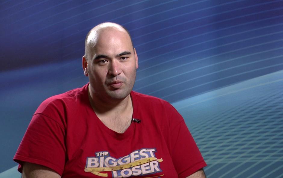 Šov je zapustil Aleš Hrvatin in nam povedal, kako se počuti človek, ki ima kar 223 kilogramov! (foto: Planet Tv)