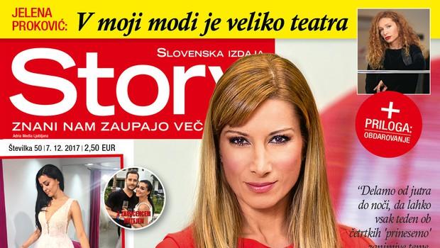Erika Žnidaršič: Med prazniki si želi malo počitka. Več v novi Story! (foto: Story)