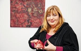 Astrologinja Rudica Kovačič Ahlin: Ustvarjalka s trgovinico v Kamniku