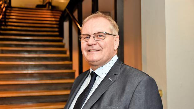Doc. dr. Rado Janša, dr. med. specialist interne medicine in gastroenterologije. (foto: Sašo Radej)