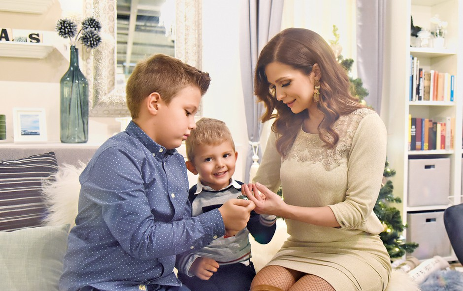 Nataliji Verboten je vzgoja sinov na prvem mestu (foto: natalija Jelušič Babić)
