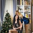 Miša Margan in Tadeja Ternar za praznike obdarili starostnike