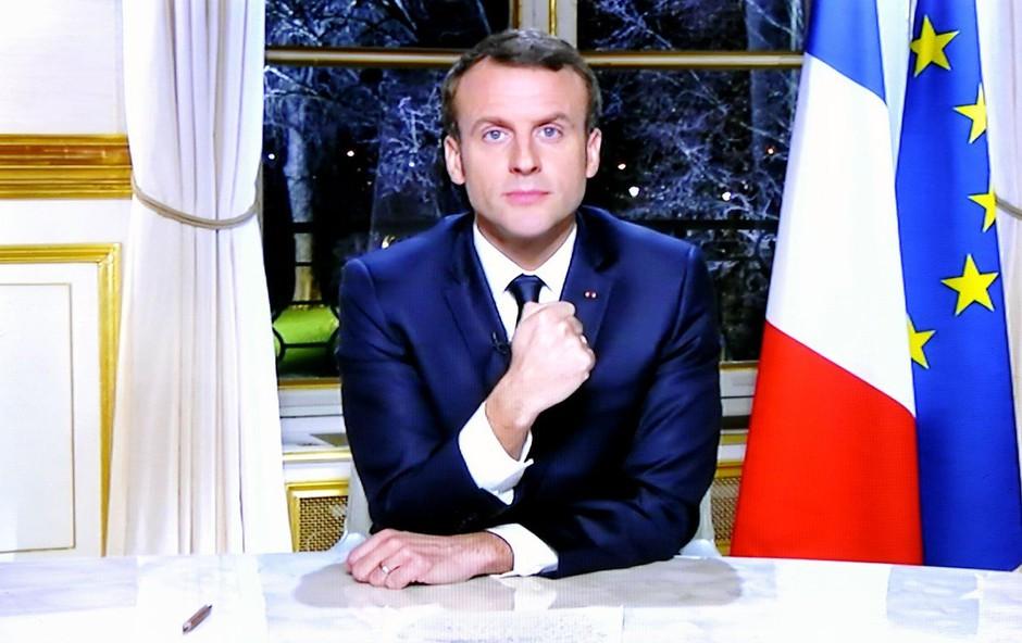 Emmanuel Macron: Požari v amazonskem pragozdu so mednarodna kriza (foto: profimedia)