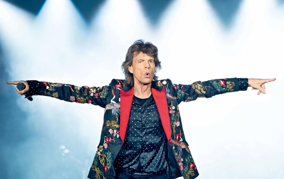 Mick Jagger po operaciji srca že na vadbi v telovadnici! (foto: Profimedia)