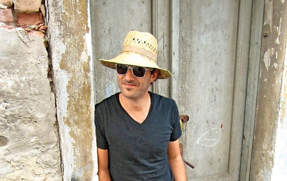Rudi Bučar o novem albumu z naslovom Šentiment (Čustvo) (foto: Alojz Petrovčič)