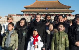 Macron se uči kitajščine, Kitajci pa navdušeni!