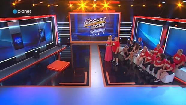 Finale The Biggest Loser Slovenija postregel z dvakratnim zmagovalcem (foto: Planet Tv)