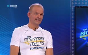 Poglejte si, koliko po koncu šova The Biggest Loser Slovenija tehta Bojan Papež
