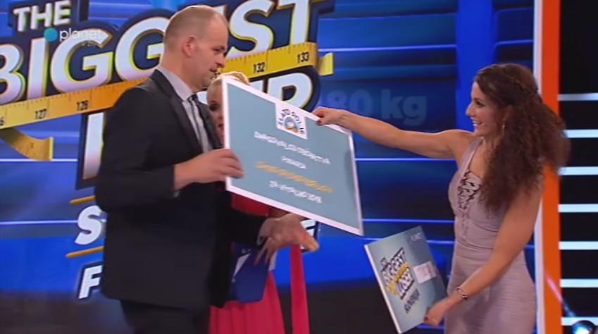 Zmagovalec šova The Biggest Loser Slovenija je Bojan Papež! (foto: Planet Tv)
