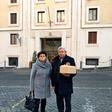 V Vatikanu zadišalo po slovenski potici