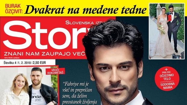 Burak Özçivit: Zaljubljen v Fahriye! Več v novi Story! (foto: revija Story)