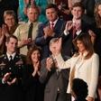 Melania Trump prelomila tradicijo in v kongres prišla ločeno od soproga!