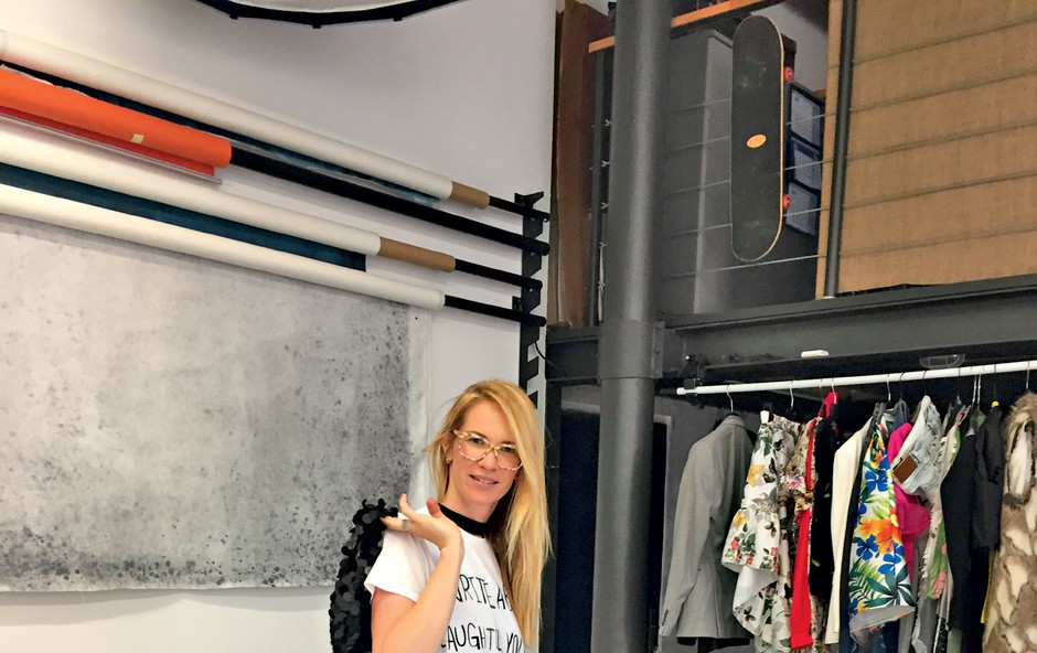 Stilistka Maja Lazar - od sodelovanja z Gwyneth Paltrow do velikih modnih imen (foto: Osebni arhiv)