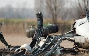 V bližini Moskve strmoglavilo rusko potniško letalo z 71 ljudmi na krovu