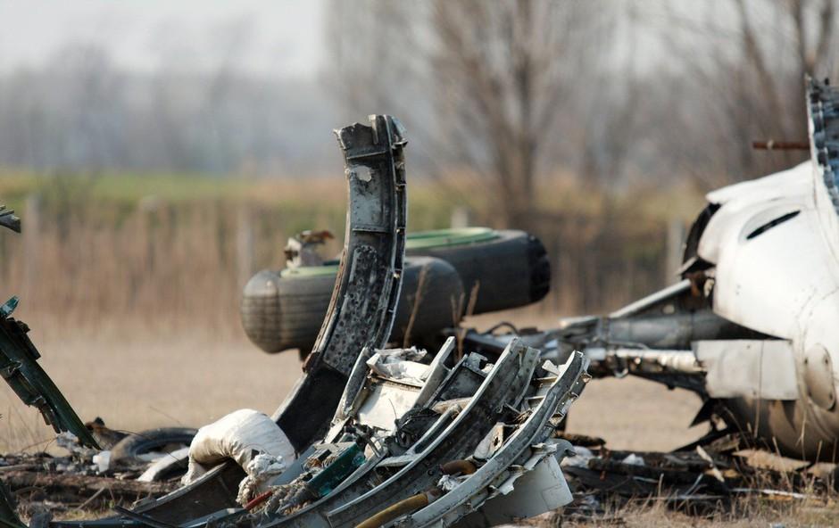V bližini Moskve strmoglavilo rusko potniško letalo z 71 ljudmi na krovu (foto: profimedia)