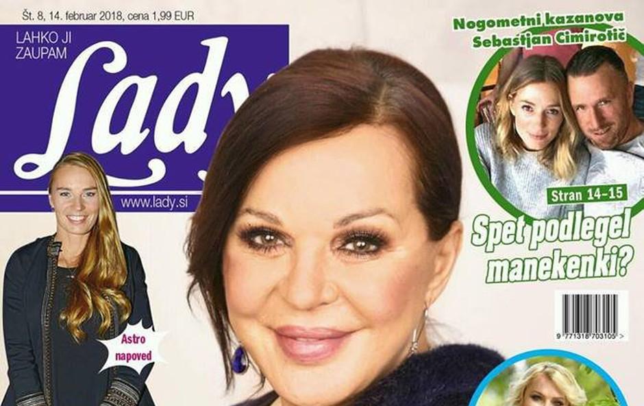 """Miša Molk v popolni """"obdelavi""""! Več v novi Lady! (foto: Lady)"""