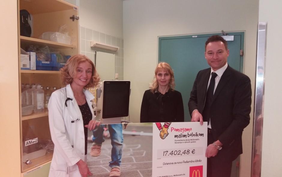 Pediatrična klinika po akciji 'Pomagajmo malim bolnikom' bogatejša za nov ultrazvočni aparat (foto: Press)