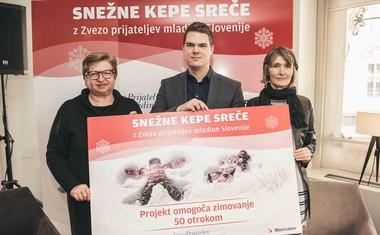 Projekt Snežne kepe sreče za nepozabne zimske radosti otrok
