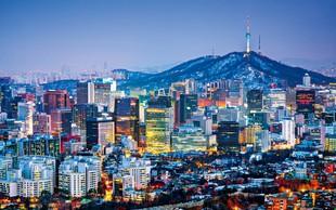 Južna Koreja - dežela templjev, narodnih parkov in olimpijskih iger