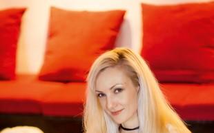 Ustvarjalka Darja Vidmar izdelke splete kar z rokami!