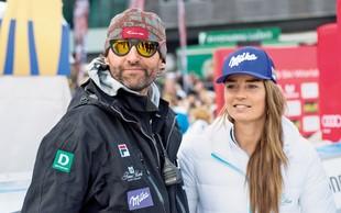 Tino Maze in Andreo Massija je razveselila deklica!