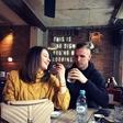 Jasmin Kurtić se z zaročenko sprehaja po Ljubljani