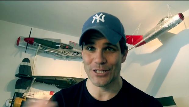 Jurij Batagelj z vlogom predstavlja nov projekt (foto: Jurij Batagelj Youtube)