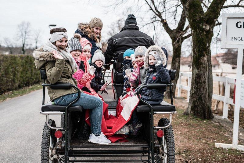 Zimska vožnja s kočijo