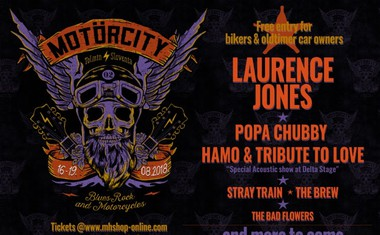 Blues rock festival MotörCity na Sotočju že drugič!