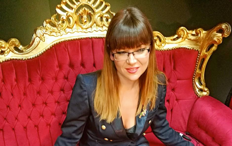 Jasna Kuljaj razkrila podrobnosti iz svoje spalnice (foto: Osebni arhiv)