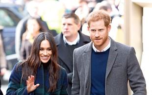 Princ Harry in Meghan prevzemata protokolarne obveznosti