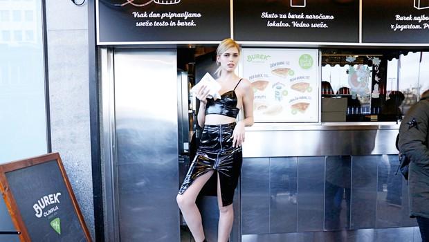 Vsestranska Denise Dame - ni bila samo model! (foto: Aleš Bravničar)