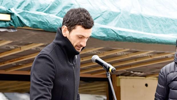 Na obisku v novem domovanju Jakova Faka (foto: Igor Zaplatil)