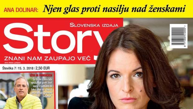 Ana Dolinar prvič spregovorila o spolnem nadlegovanju! Več v novi Story! (foto: Story)