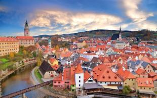 Spoznajte češki Krumlov - še dandanes je srednjeveško mesto