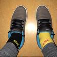 Tim Gajser in Jani Jugovic (Cool Fotr) sta oblekla različne nogavice v znak podpore!