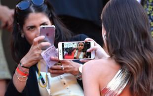 Canski festival prepovedal selfije na rdeči preprogi