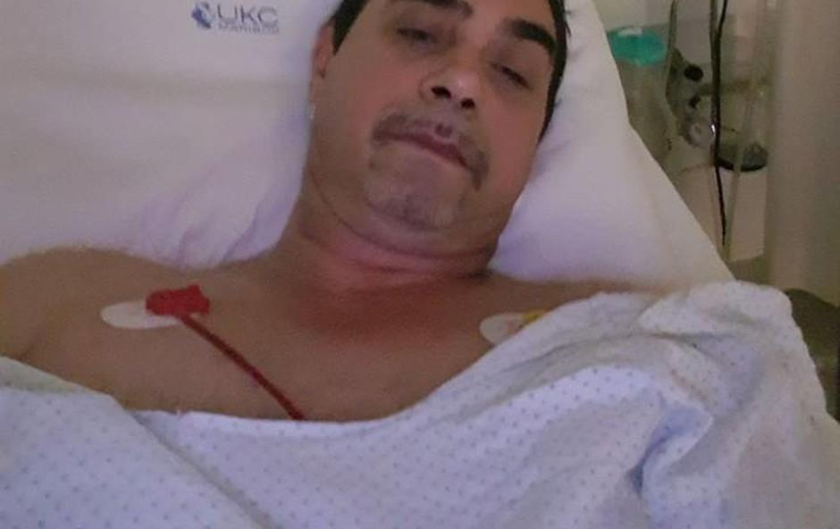 Fredi Miler po nastopu doživel srčni napad (foto: Fredi Miler osebni arhiv)