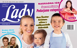 "Ana Žontar Kristanc: ""Med prazniki ne hujšam."" Več v novi Lady!"