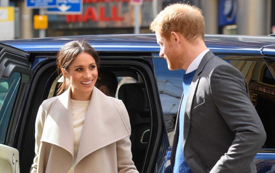 Ob poroki princa Harryja v Windsorju pričakujejo več kot 100.000 ljudi (foto: profimedia)