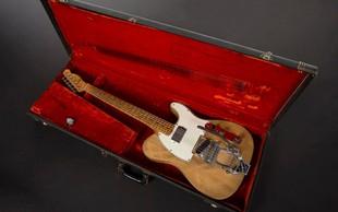 Ena najpomembnejših kitar v zgodovini rocka gre na dražbo!