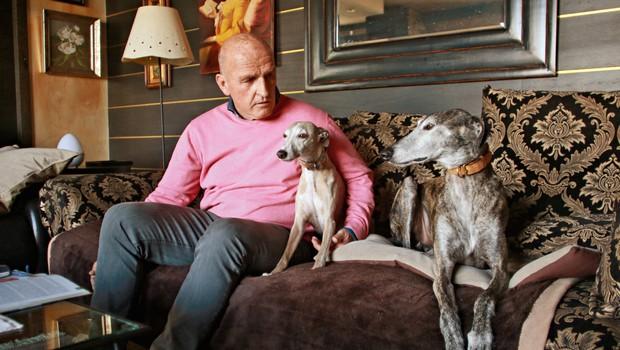 Brane Oblak: Vsakemu bi svetoval, naj ima psa (foto: Goran Antley)
