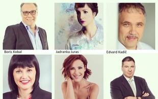 Skrivnosti samozavesti vam bodo razkrili Boris Kobal, Jadranka Juras, Edvard Kadič, Nuša Lesar in Zvezdana Mlakar
