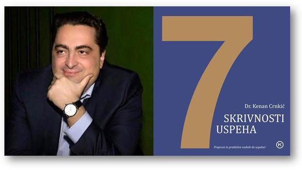 Dr. Kenan Crnkić v balkanski uspešnici razkriva 7 skrivnosti uspeha (foto: emka.si, Mladinska knjiga)