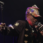 Dvojec Mad Professor in Lee Scratch Perry v Gala Hali (foto: Goran Antley)