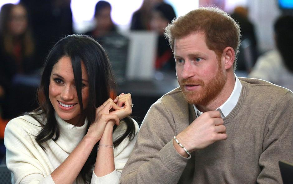 Meghan Markle in princ Harry sta že izbrala svoje poročno potovanje (foto: Profimedia)
