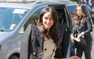 Meghan Markle že pred poroko s princem Harryjem narekuje modne trende