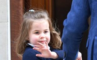 Princesa Charlotte je ob obisku malega princa s to gesto vse takoj očarala!
